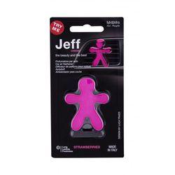 Mr&Mrs Fragrance Jeff Strawberries zapach samochodowy 1 szt unisex