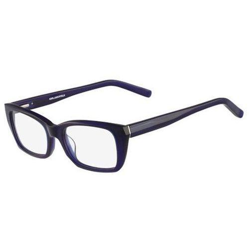Okulary korekcyjne, Okulary Korekcyjne Karl Lagerfeld KL 849 077