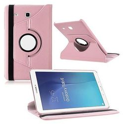 Różowe etui skórzane PU Stand Cover Galaxy Tab A 9.7 T550 - Różowy