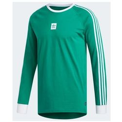 koszulka ADIDAS - Ls Cali Bb Tee Bold Green/White (BOLD GRN/WHT) rozmiar: XL
