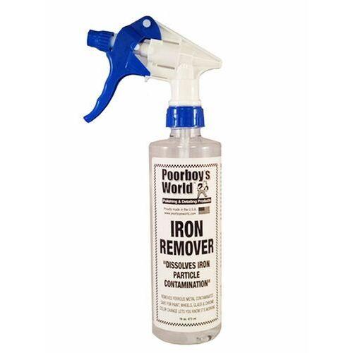 Pozostałe kosmetyki samochodowe, Poorboy's World Iron Remover 473ml do usuwania zanieczyszczeń metalicznych Poorboy's World (-13%)