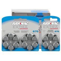 600 x baterie do aparatów słuchowych Rayovac Extra Advanced 675 MF