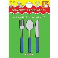 Książki dla dzieci, Domowe przedmioty Malowanki dla dzieci od lat 2 (opr. miękka)