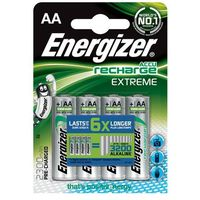 Akumulatorki, Energizer Akumulatory Extreme AA / 4 sztuki