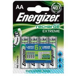 Energizer Akumulatory Extreme AA / 4 sztuki