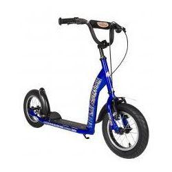 """Hulajnoga dla dzieci, pompowane koła 12"""" BikeStar kolor niebieski"""