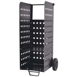 vidaXL Wózek na drewno kominkowe z plastikowymi kołami, 36x42x105 cm Darmowa wysyłka i zwroty