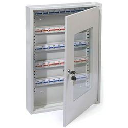 Metalowa szafka na 50 kluczy ze szklanymi drzwiczkami - Autoryzowana dystrybucja - Szybka dostawa