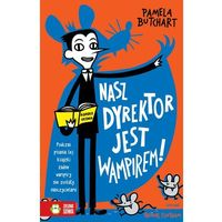 Książki dla dzieci, Nasz dyrektor jest wampirem! (opr. miękka)