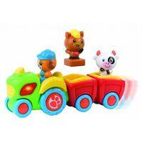Traktory dla dzieci, Traktorek z farmy Smily play - Happy Kid Toy Group