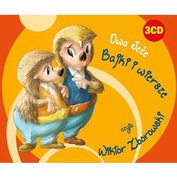 Dwa jeże. Bajki i wiersze. Książka audio 3CD - Praca zbiorowa