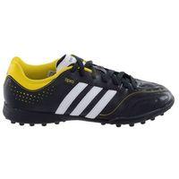 Piłka nożna, Buty piłkarskie adidas 11 QUESTRA TRX TF Q23869 czarno-żółte
