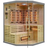 Sauny, Sauna infrared z koloroterapią EA3CR Grey