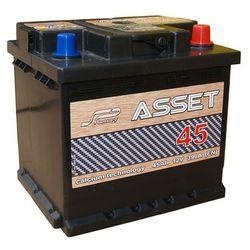 Akumulator Asset 12V 45Ah / 390A wysoki