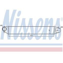 Chłodnica powietrza doładowującego - intercooler NISSENS 96634