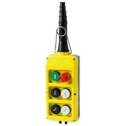 Kaseta sterownicza, start, grzybek, 4 przyciski pojedynczej prędkości PLB06