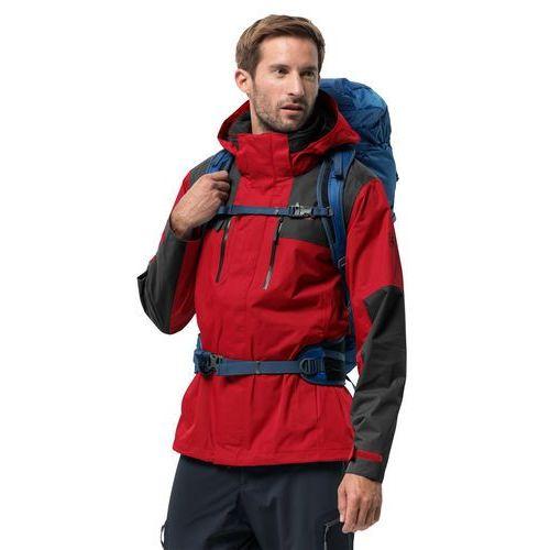 Kurtki męskie, Przeciwdeszczowa kurtka męska JASPER FLEX MEN peak red - S