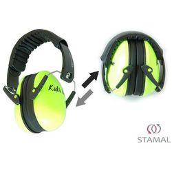 Słuchawki ochronne nauszniki dla dzieci od ok 2lat - żółty neonowy