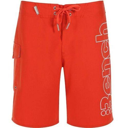 Kąpielówki, strój kąpielowy BENCH - Halkman Deep Orange (OR004)