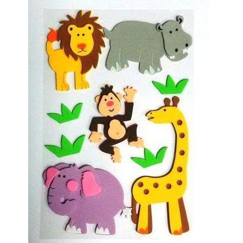 Kreatywne dla dzieci, Artykuł kreatywny samoprzylepny gąbka, naklejka 3D