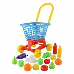 """Wózek """"Supermarket"""" nr1 + Zestaw zakupowy"""