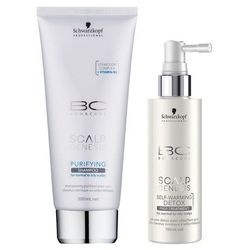 Schwarzkopf BC SG Purifying Shampoo 200ml + Schwarzkopf BC SG Self-Warming Detox Treatment 100ml