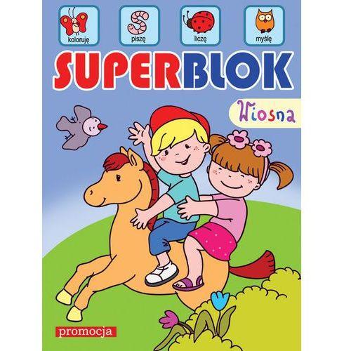 Książki dla dzieci, Superblok Wiosna (opr. kartonowa)