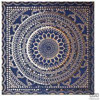 Obrazy, Ozdobny obraz Niebieski wzór 101541