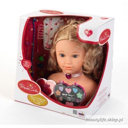Głowy do stylizacji dla dziewczynek, KLEIN Głowa do stylizacji Princess Coralie