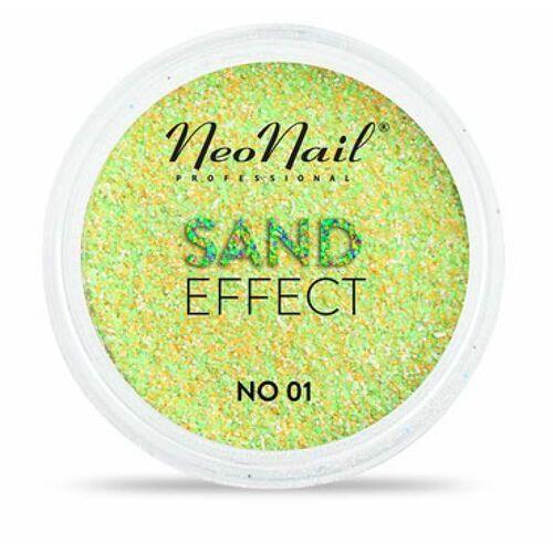 Ozdoby na paznokcie, NeoNail SAND EFFECT Pyłek No 01