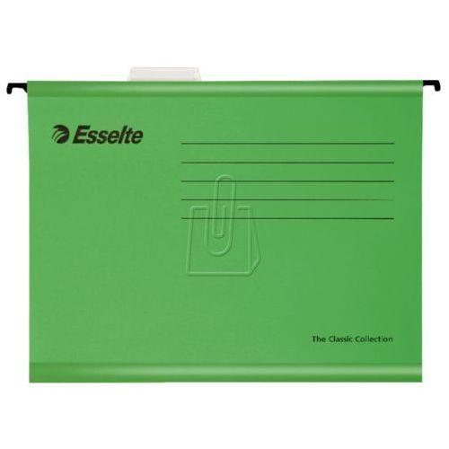 Koszulki, teczki, koperty, Teczka zaw.A4 classic ziel.90318 (pendaflex) Esselte 25szt.