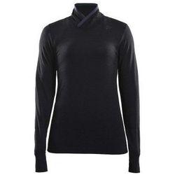 CRAFT Golf damski FUSEKNIT COMFORT WRAP - rozmiar L - kolor czarny