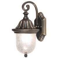 Lampy ogrodowe, Kinkiet zewnętrzny ogrodowy Rabalux Sydney 1x60W E27 IP23 antyczne złoto 8388
