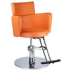 Fotel fryzjerski LUIGI BR-3927 pomarańczowy
