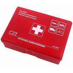Apteczka samochodowa pierwszej pomocy PK-MOT Czerwona (AS6 RED)