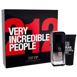CAROLINA HERRERA 212 Men VIP Black Zestaw EDP 100 ml Dla Panów