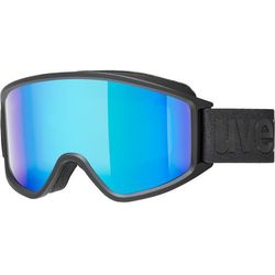 UVEX g.gl 3000 CV Gogle, black mat/Colorvision blue fire 2019 Gogle narciarskie