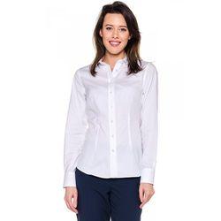 Kremowa, klasyczna koszula - Sobora