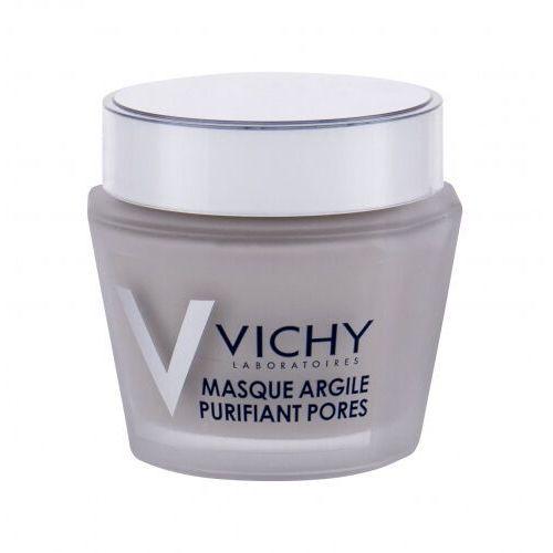 Maseczki do twarzy, Vichy Pore Purifying Clay Mask maseczka do twarzy 75 ml dla kobiet