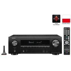 DENON AVR-X1500H - amplituner z funkcją stereo i wejściem gramofonowym | Gwarancja 3-lata