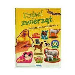 Książeczka z naklejkami. Dzieci zwierząt w.2014