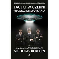 Faceci w czerni - Nicholas Redfern OD 24,99zł DARMOWA DOSTAWA KIOSK RUCHU (opr. miękka)