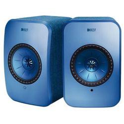 KEF LSX niebieski