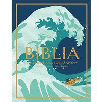 Książki religijne, Biblia Opowiedziana i objaśniona - Jean-Michel Billioud (opr. twarda)