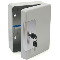 Mocna metalowa szafka na 22 klucze szara - Autoryzowana dystrybucja - Szybka dostawa