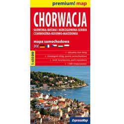 Chorwacja mapa samochodowa 1:650 000 (opr. miękka)