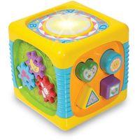 Interaktywne dla niemowląt, Interaktywna kostka muzyczna +DARMOWA DOSTAWA przy płatności KUP Z TWISTO