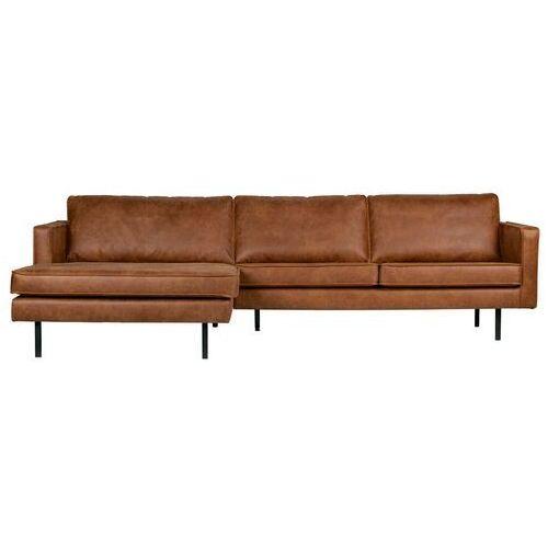 Narożniki, Be Pure Sofa narożna lewostronna Rodeo koniak 800905-B
