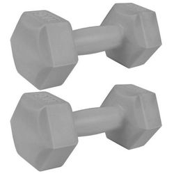 Zestaw hantli sześciokątnych 2 x 1 kg Monster - Spokey - 2 x 1 kg