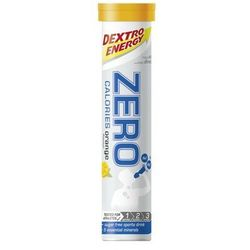 Napój z elektrolitami w tabletkach DEXTRO ENERGY Zero Calories / Opakowanie: 80 g 20 szt / Smak: pomarańczowy